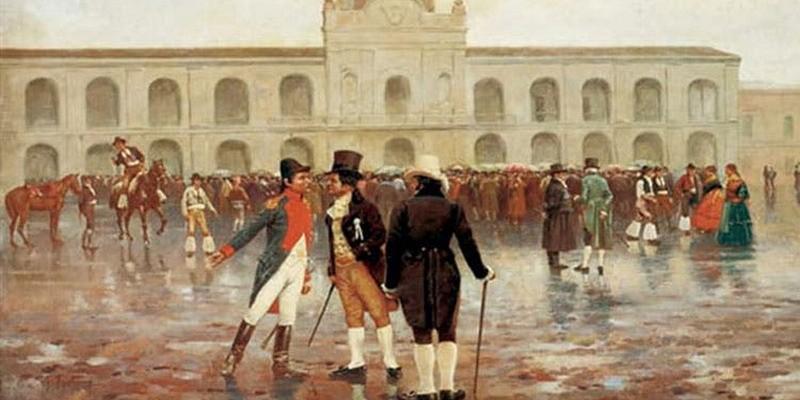 Qué pasó el 25 de Mayo de 1810 y quiénes fueron los protagonistas de la revolución