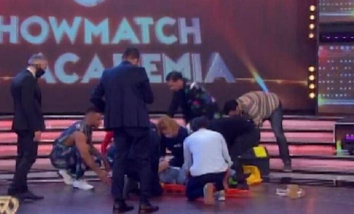 Así fue la impactante lesión de Facu Mazzei en La Academia