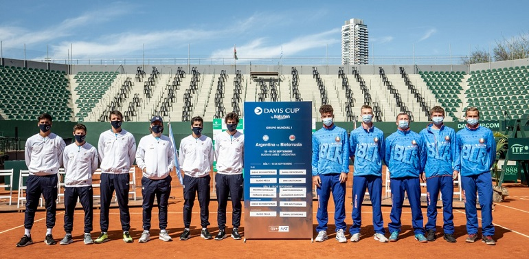 Diego Schwartzman abre la serie de Copa Davis frente a Bielorrusia