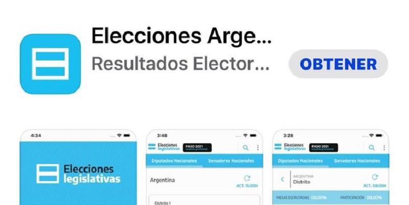 Lanzaron una aplicación para seguir el resultado de las elecciones por el celular