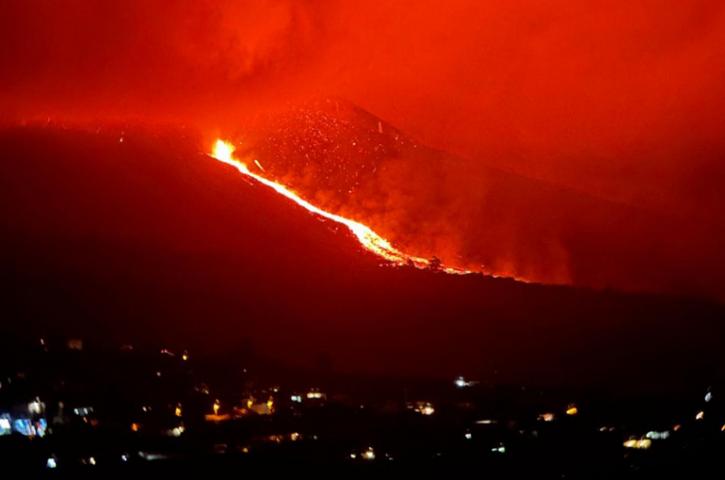 Preocupa el aumento de la actividad volcánica en La Palma