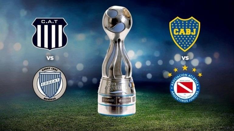 Copa Argentina confirmó las semifinales entre Boca-Argentinos y Talleres-Godoy Cruz